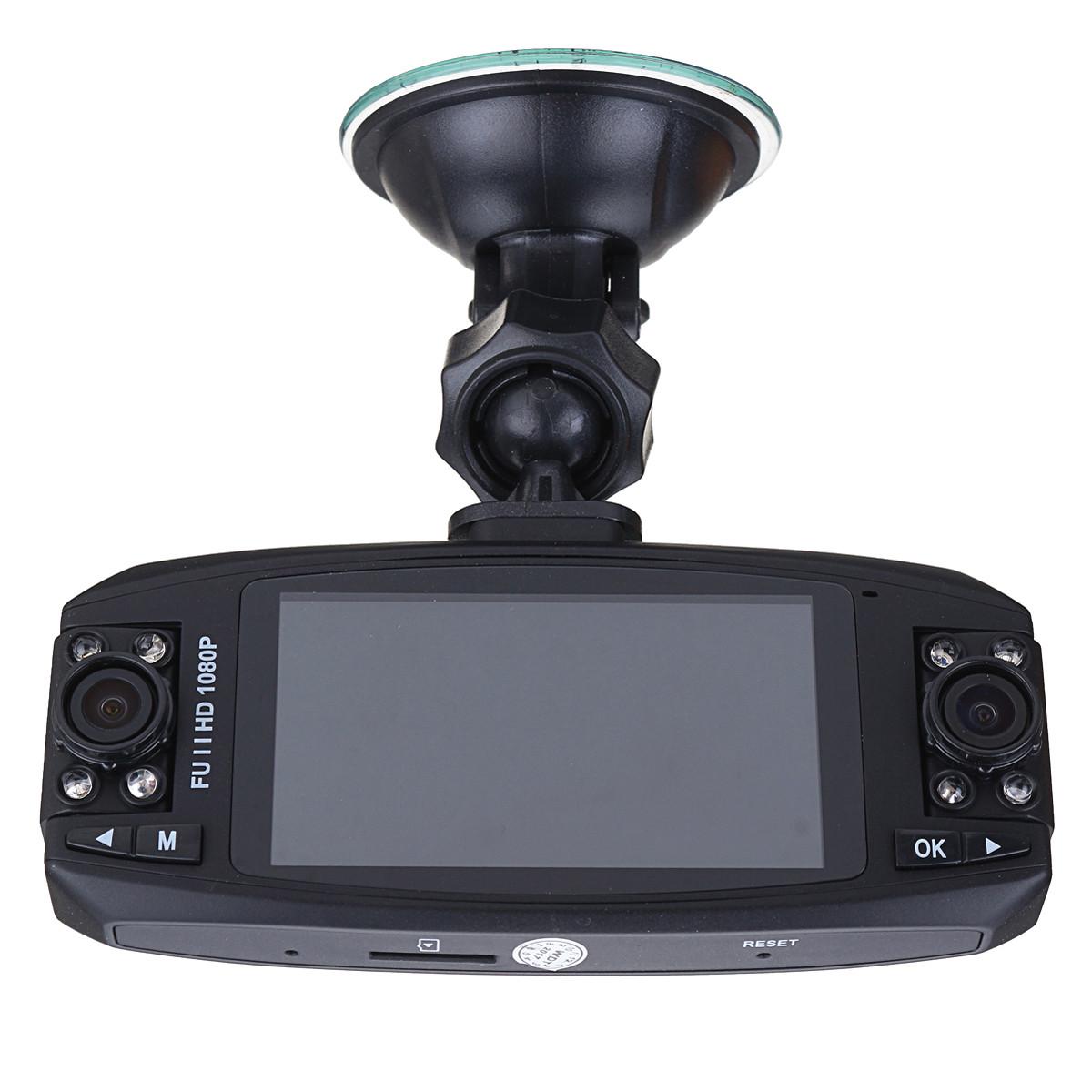 F80 HD 2.7 дюймов Двойной Объектив Вращающийся Авто Видеорегистратор Автомобильный видеорегистратор камера Датчик G-Sensor - 1TopShop