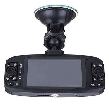 F80 HD 2.7 дюймов Двойной Объектив Вращающийся Авто Видеорегистратор Автомобильный видеорегистратор камера Датчик G-Sensor - 1TopShop, фото 2