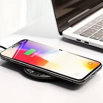 Baseus 10W Visible Qi Беспроводная быстрая зарядная панель QC3.0 для iPhone X S9 S8 Note 8 Plus 1TopShop, фото 2