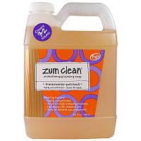 Indigo Wild, Zum Clean, ароматерапевтическое мыло для стирки, ладан и пачули, 32 жид. Унции