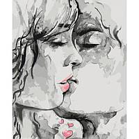 Раскрашивание по номерам Ты - мой космос… (KHO2692) Идейка 40 х 50 см (без коробки)