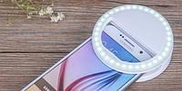 Кольцо подсветка для селфи на телефон Selfie Ring Light