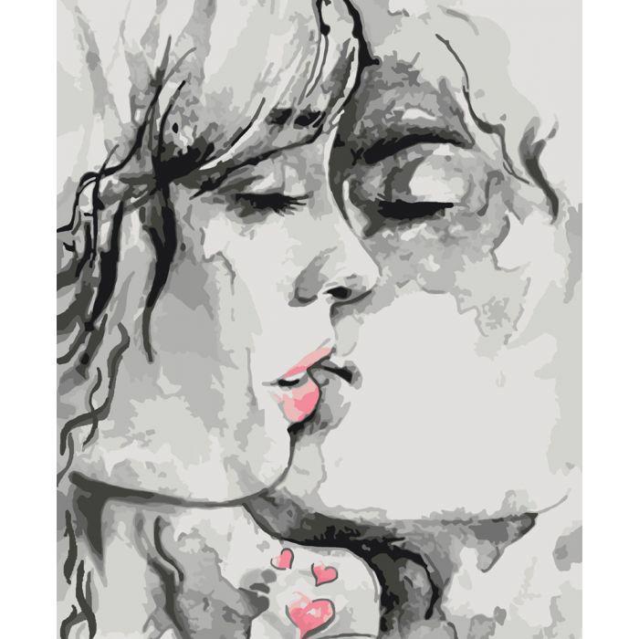 Картина раскраска по номерам Ты - мой космос… (KH2692) Идейка 40 х 50 см