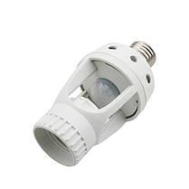 Инфракрасный PIR датчик движения Таймер 360 градусов E27 LED Адаптер лампы Лампа Держатель конвертер AC110V/220V 1TopShop, фото 2