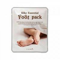 Педикюрные носочки-маска Calmia Silky Essential FootPack