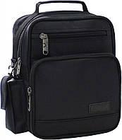 Украина Мужская сумка Bagland Mr.Jack 7 л. Чёрный (0026670), фото 1