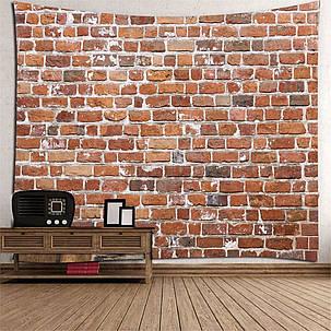 3D Каменный Красный Кирпич Декоративная Мандала Гобелен Настенная Висячая Гостиная Спальня Украшения 1TopShop, фото 2