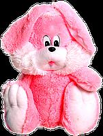 Велика плюшева іграшка - Зайчик (рожевий) 110 див.