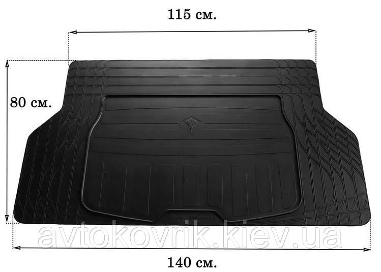 Универсальный коврик в багажник TRUNK MAT UNI BOOT S (Stingray)