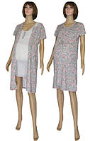 NEW! Наборы одежды для роддома и дома для беременных и кормящих - серия Fashion Patterns Grey!