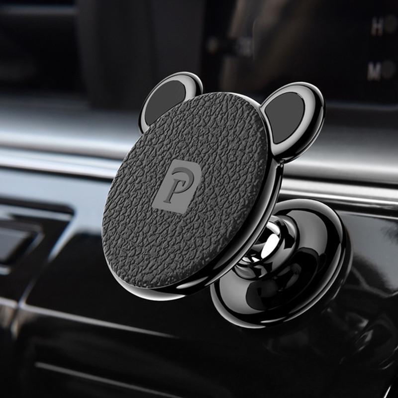 Oatsbasf Сильное магнитное вращение на 360 градусов Авто Подставка для держателя приборной панели для iPhone Xiaomi-1TopShop