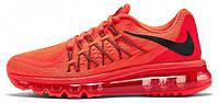 Мужские кроссовки Nike Air Max 2015 Red (найк аир макс 2015 красные)