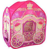 Детская палатка М 3316 Карета Принцессы