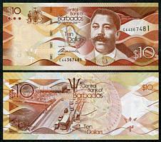 Барбадос / Barbados 10 Dollars 2007 P68 UNC