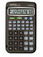 Калькулятор Assistant AC-3102; инженерный, 8 мантиссы  2 экспоненты, 56 функций, элемент питания, 127 х 74 х 12 мм