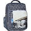 Украина Рюкзак школьный Bagland Школьник 8 л. 321 серый 165к (00112702)