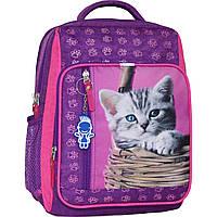 Украина Рюкзак школьный Bagland Школьник 8 л. 339 фиолетовый 58д (0012870), фото 1