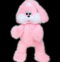 """Великий плюшевий зайчик """"Сніжок"""" (рожевий) 100 см."""