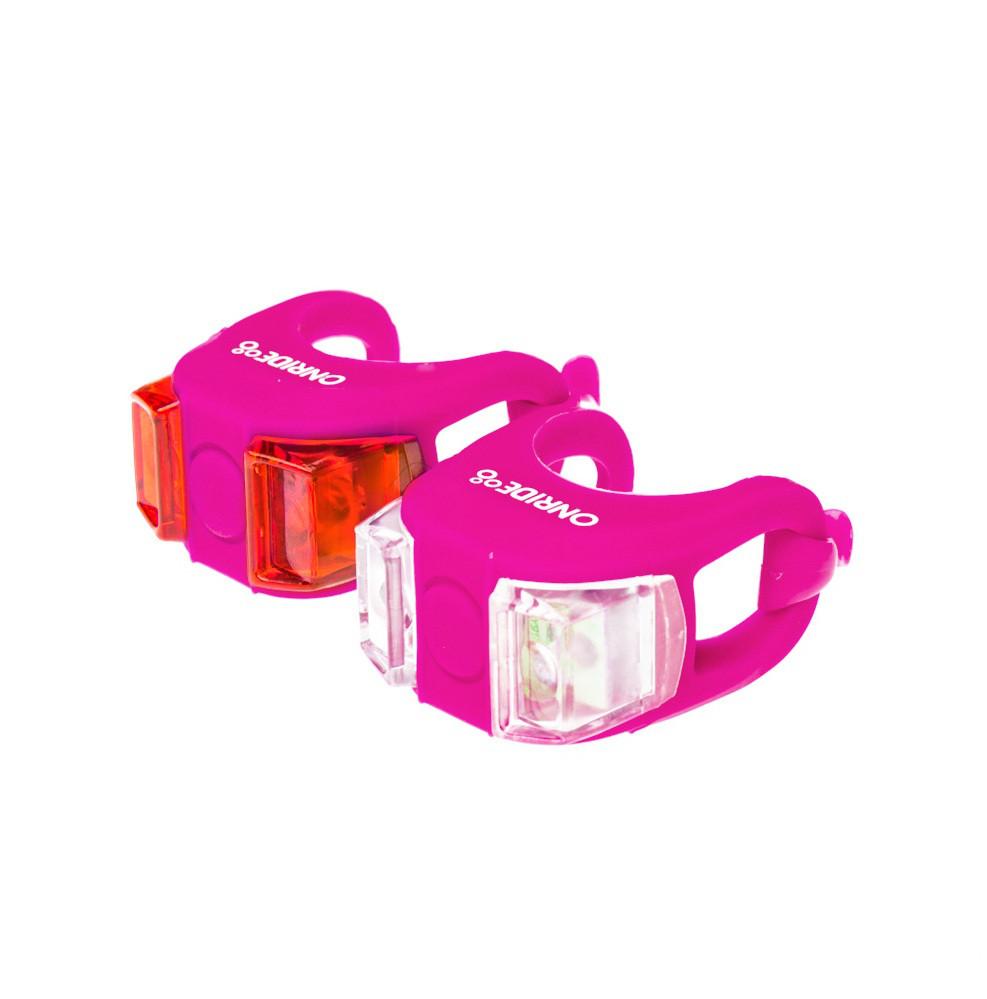 Мигалка ONRIDE Dual розовый корпус