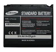 Батарея (АКБ, аккумулятор) - Samsung D900 AB503442CE - оригинал