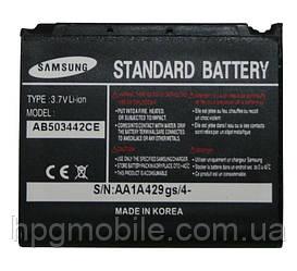 Аккумулятор (АКБ, батарея) AB503442CE для Samsung D900, 800 mAh, оригинал