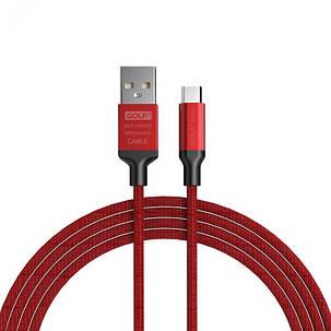 Golf Knight Series 2.4A Micro USB Braid Зарядные данные Телефонный кабель 1M Для Redmi 5 Plus Примечание 5 Примечание 4 1TopShop, фото 2