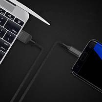 Golf Knight Series 2.4A Micro USB Braid Зарядные данные Телефонный кабель 1M Для Redmi 5 Plus Примечание 5 Примечание 4 1TopShop, фото 3