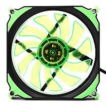 12cm 3 Pin 4 Pin LED Охладитель охлаждающего вентилятора с подсветкой для процессора PC Mining Чехол 1TopShop, фото 2