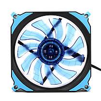 12cm 3 Pin 4 Pin LED Охладитель охлаждающего вентилятора с подсветкой для процессора PC Mining Чехол 1TopShop, фото 3
