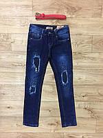 Джинсовые брюки на девочек оптом, Grace, 134-164 рр, фото 1