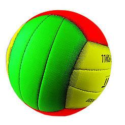 Мяч волейбольный UNIT 20154-US разноцветный