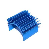 TT01 Синий алюминий Мотор Теплоотвод TT-01 53664 Для 540 Мотор RC Авто Запчасти 1TopShop