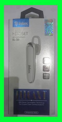 Bluetooth-гарнитура Inkax Bluetooth Erphone BL-06, фото 2