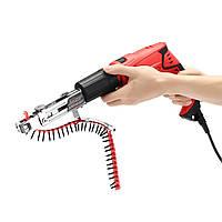 Drillpro Автоматический адаптер цепного пистолета болтов Винт-пушка Пистолет для электрических дрелей Инструмент для деревообработки
