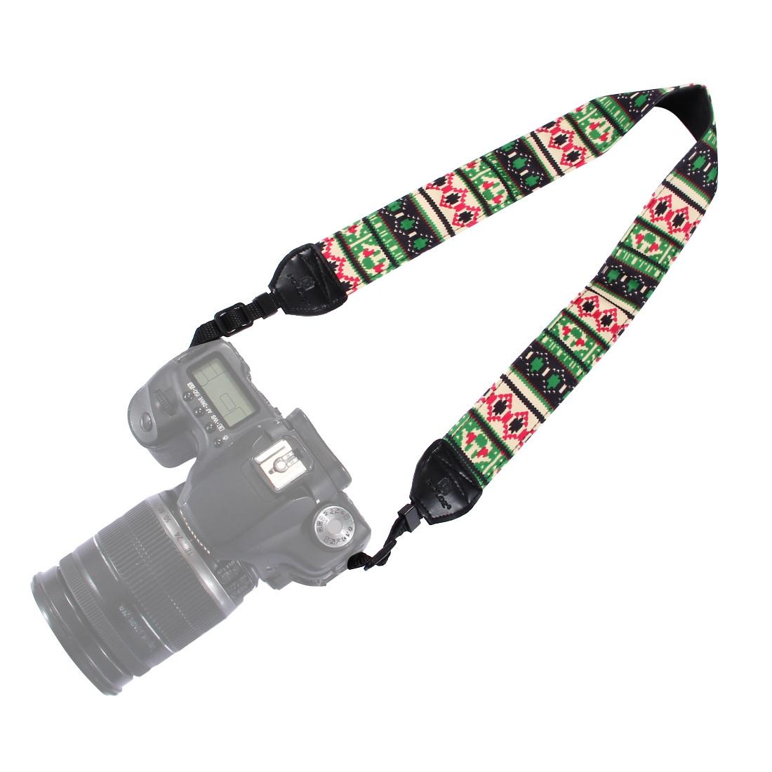 PULUZ PU6007C Ретро Этнический стиль Многоцветная серия Плечо Шея Ремень камера Ремень для зеркальных фотокамер DSLR 1TopShop