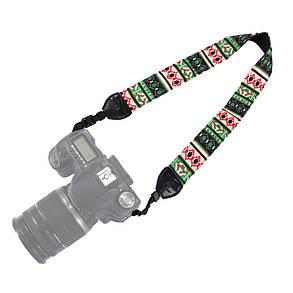 PULUZ PU6007C Ретро Этнический стиль Многоцветная серия Плечо Шея Ремень камера Ремень для зеркальных фотокамер DSLR 1TopShop, фото 2
