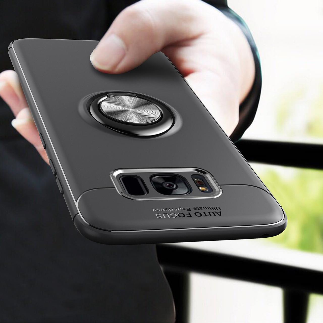 C-KU360ºВращающийсякольцевойзахватKicktand Защитный Чехол Для Samsung GalaxyS8 1TopShop