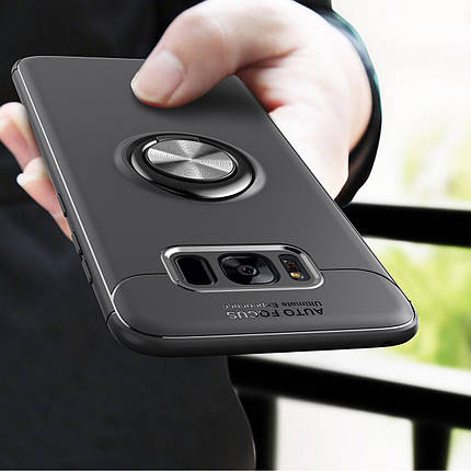 C-KU360ºВращающийсякольцевойзахватKicktand Защитный Чехол Для Samsung GalaxyS8 1TopShop, фото 2