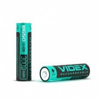 Аккумулятор Videx Li-ion 18650-P (защита), 3000mAh, 3,7V