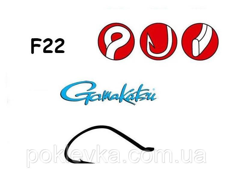 Крючок Gamakatsu F22 №14 25 шт