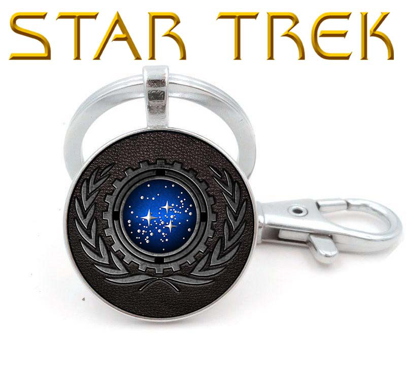 Брелок Star Trеk Звездный Путь Объединённая федерация планет