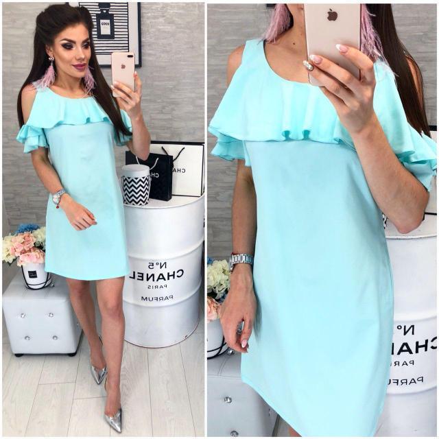 b7fca51b0b1 Платье с воланом