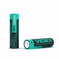 Аккумулятор Videx Li-ion 18650-P (защита), 3400mAh, 3,7V