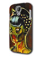 Чехол для samsung galaxy s4 zombie rihanna