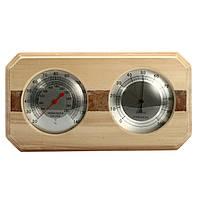 Деревянные Сауна Hygrothermograph Термометр Гигрометр Сауна Аксессуар для комнаты