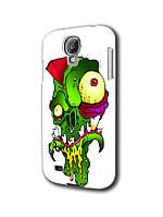 Чехол для samsung galaxy s4 zombie / прикольный смешной зомби