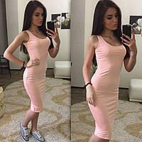 Платье майка 1 метр 42 44 46 48 50 Р, фото 1