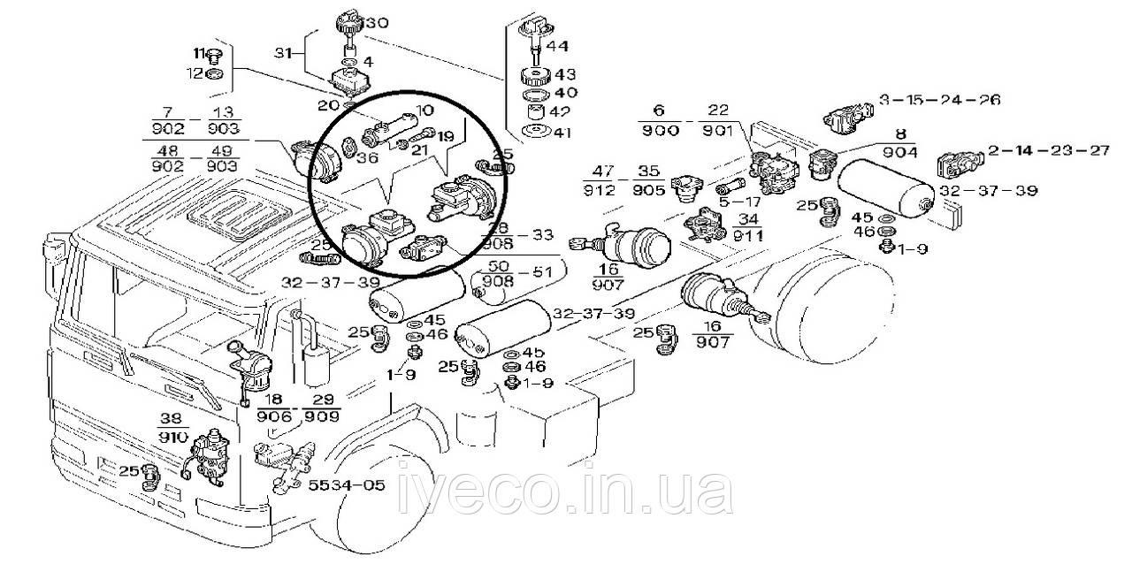 4804129 580017 318 Iveco Eurocargo Eurotech Wiring Diagram