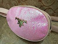 Женская сумка на пояс искусств кожа только оптом