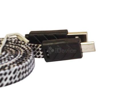 Кабель USB - micro USB с удлинённым штекером 9 мм, фото 2